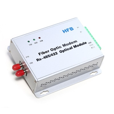 Industrial RS485 to Fiber Optic Converter