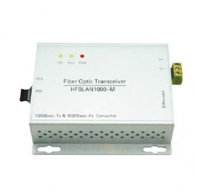 10/100M Ethernet to Fiber Optic Converter(Wall Mount)