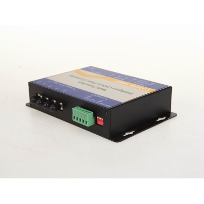 Configurable CAN Bus Multi-drop Bus Fiber Optic Converter