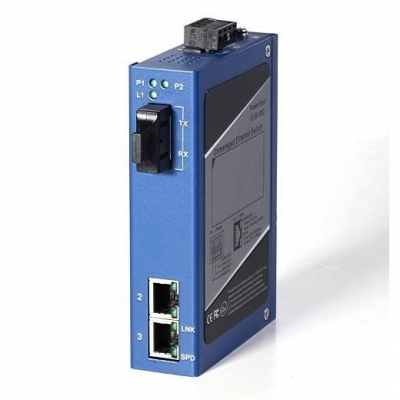 Gigabit Ethernet Industrial  Media Converter