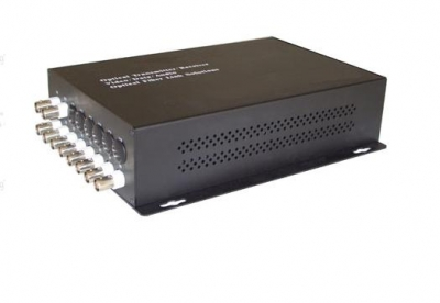 10 Channel Fiber Optic Video Transceiver