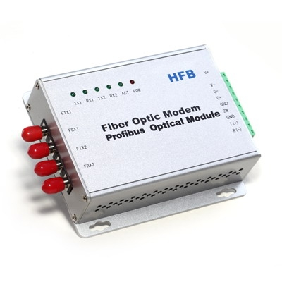Profibus Multi-Drop Self-Healing Ring Fiber Optic Modem(Wall Mount)